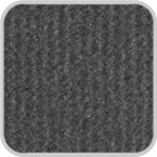 CoverKing Front Dash Cover Charcoal Color Velour Material #CDCV2