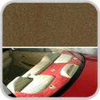 CoverKing Rear Cover Caramel Color Poly Carpet Material #CRDP16