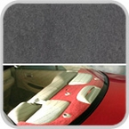 CoverKing Rear Cover Charcoal Color Poly Carpet Material #CRDP2