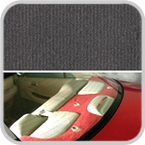 CoverKing Rear Cover Charcoal Color Velour Material #CRDV2
