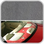 CoverKing Rear Cover Gray Color Poly Carpet Material #CRDP3