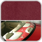 CoverKing Rear Cover Red Color Poly Carpet Material #CRDP7