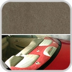 CoverKing Rear Cover Taupe Color Poly Carpet Material #CRDP15