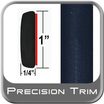 "1"" Wide Dark Blue Metallic Molding Trim ( PT28 ), Sold by the Foot, Precision Trim® # 11100-28"