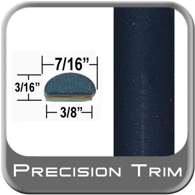 "7/16"" Wide Blue (Dark) Wheel Molding Trim ( PT28 ), Sold by the Foot, Precision Trim® # 2150-28-01"