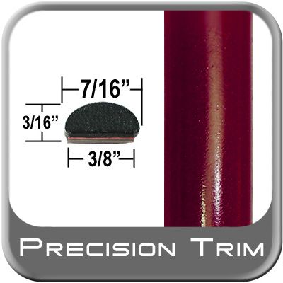 "7/16"" Wide Medium Red Fender Trim ( PT44 ), Sold by the Foot, Precision Trim® # 2150-44"
