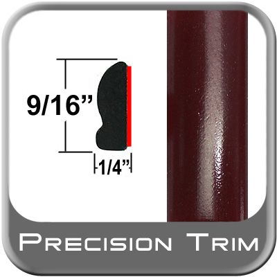"""9/16"""" Wide Cassis Pearl Wheel Molding Trim 3Q7 ( PT72 ), Sold by the Foot, Precision Trim® # 9150-72"""