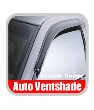 Dodge Van Rain Guards / Wind Deflectors 1998-2003 Ventvisor Dark Smoke Acrylic Front Pair Auto Ventshade AVS #92416