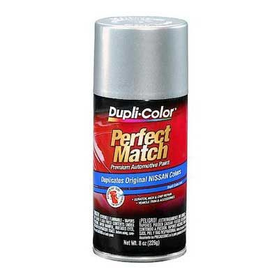 Nissan Platinum Metallic Perfect Match® Touch-Up Spray Paint 8 ounce DupliColor #BNS0595