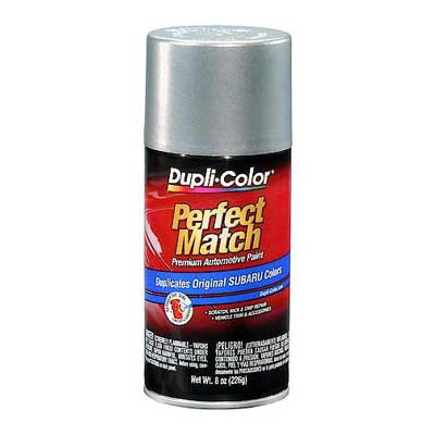 Subaru Quick Silver Metallic Perfect Match Touch Up Spray Paint 8 Ounce Duplicolor Bsu1345