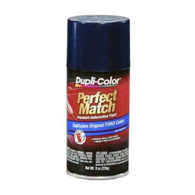 Ford Twilight Blue Metallic Perfect Match® Touch-Up Spray Paint 8 ounce DupliColor #BFM0294