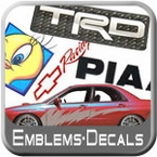 Emblems, Decals, Stickers & Graphics