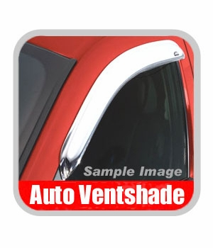 Ford F250 Truck Rain Guards / Wind Deflectors 1999-2015 Ventvisor Chrome Plated ABS Plastic Front Pair Auto Ventshade AVS #682503
