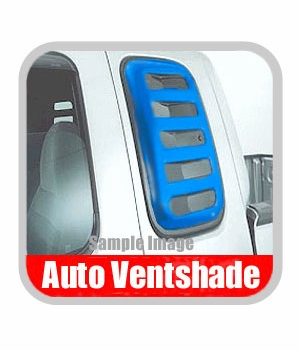 Ford F250 Truck Side Window Covers 1992-1996 Aeroshade Black Paintable Louvered Style 2-piece Set Auto Ventshade AVS #97457