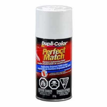 Ford, Hyundai, Kia Oxford White Perfect Match® Touch-Up Spray Paint 8 ounce DupliColor #BFM0229