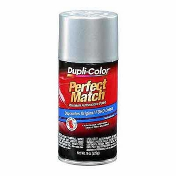 Ford, Mazda Silver Charcoal Metallic Perfect Match® Touch-Up Spray Paint 8 ounce DupliColor #BFM0236