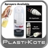 Ford, Mazda Silver Charcoal Metallic Scratch Kit 2-in-1 Touch Up Paint Kit 3 tubes PlastiKote #2039