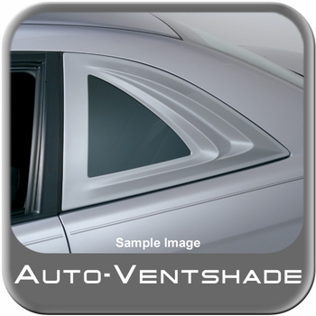 Ford Mustang Side Window Covers 2005-2009 Aeroshade Black Paintable Cut Out Style 2-piece Set Auto Ventshade AVS #97903