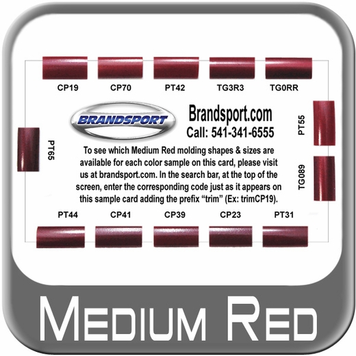 Free Color Sample Cards Brandsport® #CARD