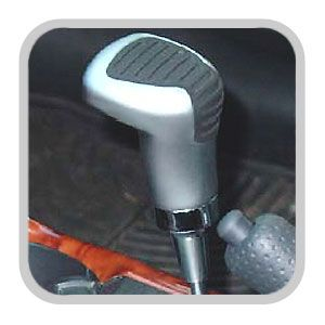 Toyota Silver Shift Knob Silver Finish w/Rubber Insert Genuine Toyota #PTS22-42061