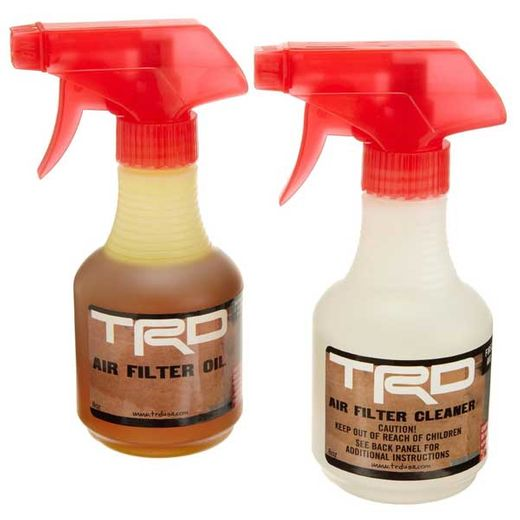 Genuine Toyota TRD Air Filter Cleaning Kit TRD Air Filter Cleaning & Re-oil Kit 12-oz / 8-oz #PTR43-00088