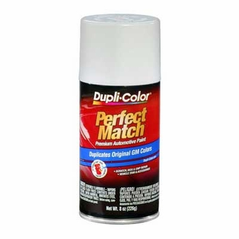 GM, Isuzu Bright White Perfect Match® Touch-Up Spray Paint 8 ounce DupliColor #BGM0433