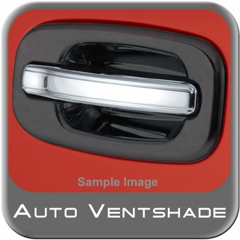 GMC Sierra Truck Chrome Door Handle Covers 1999-2007 Handle Cover Set Chrome Plated ABS 4-piece Set Auto Ventshade AVS #685406