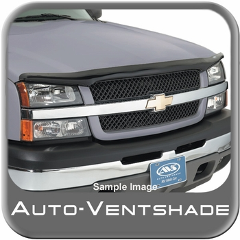 GMC Suburban Bug Deflector 1992-2000 Hoodflector Low Profile Smoke Color Wrap Style Bug Guard Auto Ventshade AVS #21851