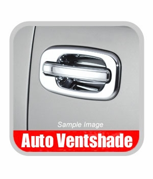 GMC Yukon Chrome Door Handle Covers 2000-2006 Handle & Bucket Set Chrome Plated ABS 4-piece Set Auto Ventshade AVS #685206