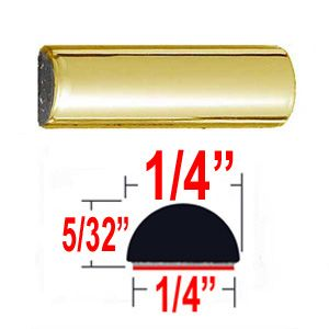 "1/4"" Wide Gold Wheel Molding Trim Sold by the Foot, Trim Gard® # M306"