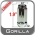"Gorilla® 1/2"" x 20 Lifetime Guarantee Lug Nuts Tapered (60°) Seat Right Hand Thread Chrome Sold Individually #41188XLLT"