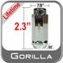 "Gorilla® 9/16"" x 18 Lifetime Guarantee Lug Nuts Tapered (60°) Seat Right Hand Thread Chrome Sold Individually #66198XL"