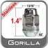 """Gorilla® 9/16"""" x 18 Stainless Steel Lug Nuts Tapered (60°) Seat Right Hand Thread Stainless Steel Sold Individually #91198SS"""