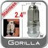 "Gorilla® 9/16"" x 18 Stainless Steel Lug Nuts Tapered (60°) Seat Right Hand Thread Stainless Steel Sold Individually #96198XLSS"
