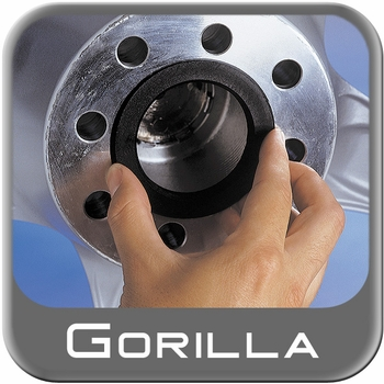 Gorilla® Black Hub Rings Round Set of 4 #69-6415