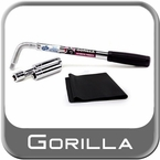 """Gorilla® Power Wrench Lug Wrench Kit w/Telescoping Handle to 22"""" Sold Individually #1334"""