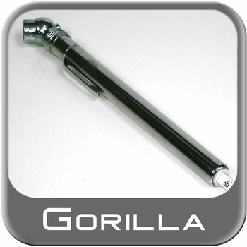 Gorilla® Tire Pressure Gauge Pencil Style Sold Individually #TG1