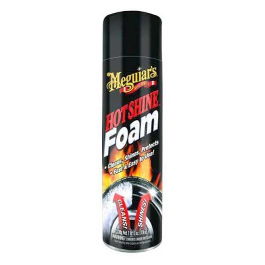 Meguiars Hot Shine Tire Foam 19 oz. Aerosol Foam Spray #G13919