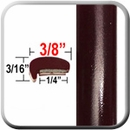 """L"" Style Dark Red Car Door Guards ( PT62 ), Sold by the Foot, Precision Trim® # 1180-62"