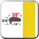 """L"" Style Yellow Car Door Guards ( PT46 ), Sold by the Foot, Precision Trim® # 1180-46"