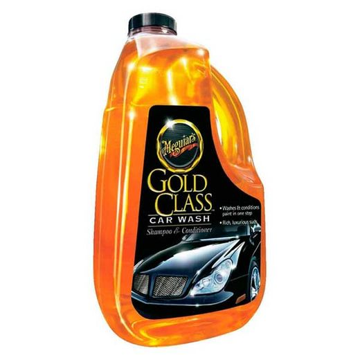 Meguiars Gold Class Car Wash Shampoo and Conditioner 64 oz. Bottle #G7164