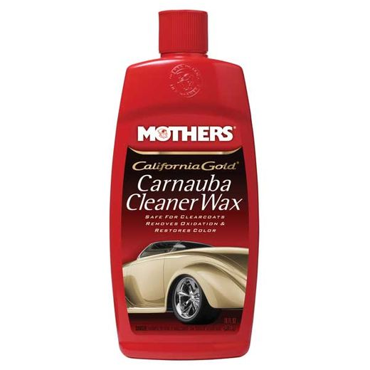Mothers California Gold Carnauba Cleaner Wax Liquid Cleaner / Wax 16 oz. Pour Bottle #05701