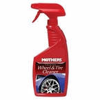 Mothers Foaming Wheel and Tire Cleaner Liquid Cleaner 24 oz. Trigger Spray Bottle #05924