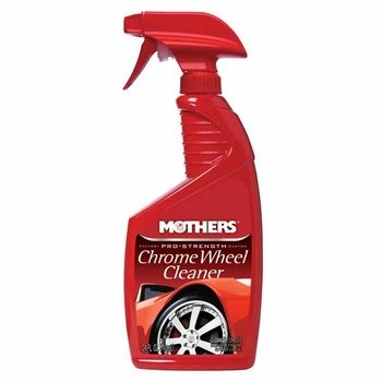 Mothers Pro-Strength Chrome Wheel Cleaner Liquid Cleaner 24 oz. Trigger Spray Bottle #05824