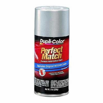 Nissan Silver Frost Metallic Perfect Match® Touch-Up Spray Paint 8 ounce DupliColor #BNS0565