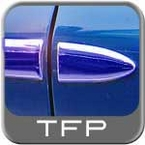 Paintable Body Side Molding w/Formed End Tips Sets of 2 TFP® #10XX2UBIP