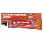 Permatex Black Super Weatherstrip Adhesive 5 fluid oz. tube #81850
