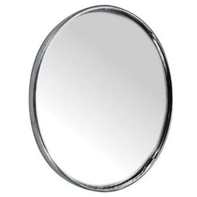 """Peterson Manufacturing 3-3/4"""" Round Blind Spot Mirror 3-3/4"""" Round, Steel Backing Stick on, Convex #V603L"""