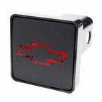 "Pilot Automotive Chevrolet Hitch Cover LED Hitch Cover Lighted Hitch Cover fits 2"" Trailer Hitches Sold Individually #CR007C"