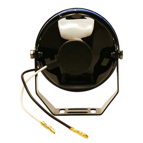 Pilot Automotive Fog Light Kit HID White Beam w/Blue Lens Round Design Black Set of 2 #NV602W